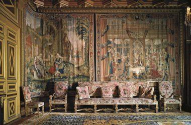 Salon des tapisseries - Château de Fontainebleau