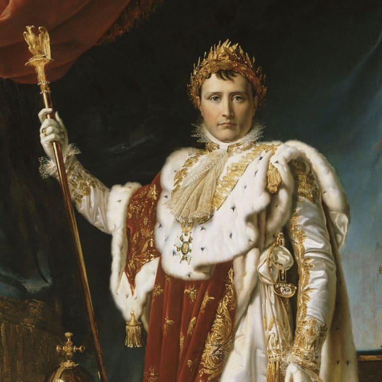 身着加冕服的拿破仑