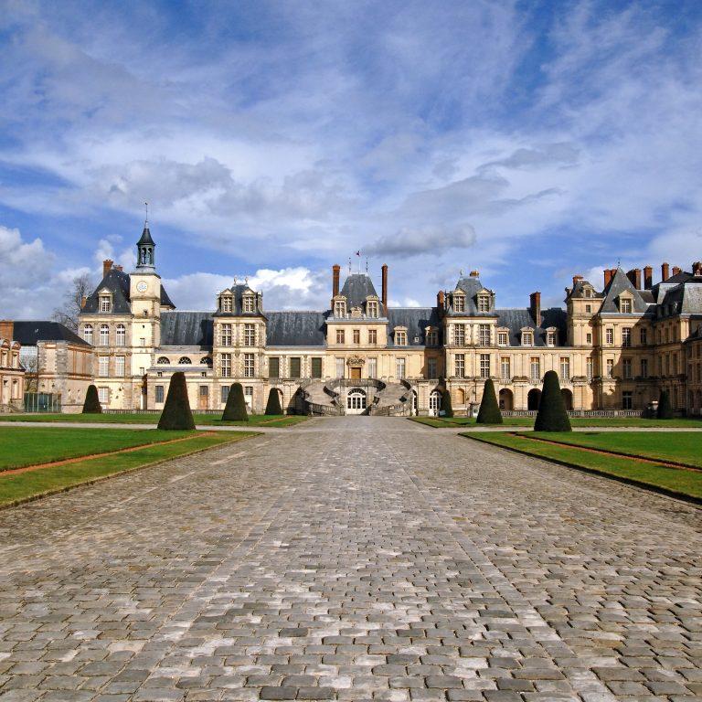 Cour d'Honneur du château de Fontainebleau