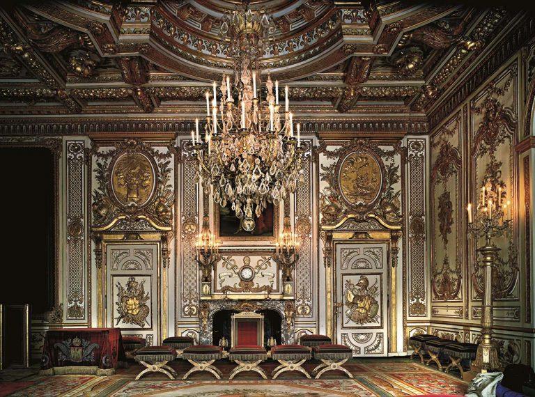 Chambre du roi - Château de Fontainebleau