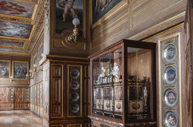 Galerie des assiettes - Château de Fontainebleau