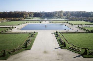 Grand Parterre du Château de Fontainebleau