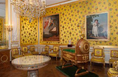 Berceau du Roi de Rome au château de Fontainebleau