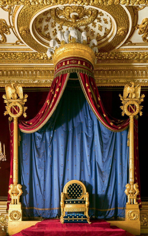 Salle du trône du château de Fontainebleau