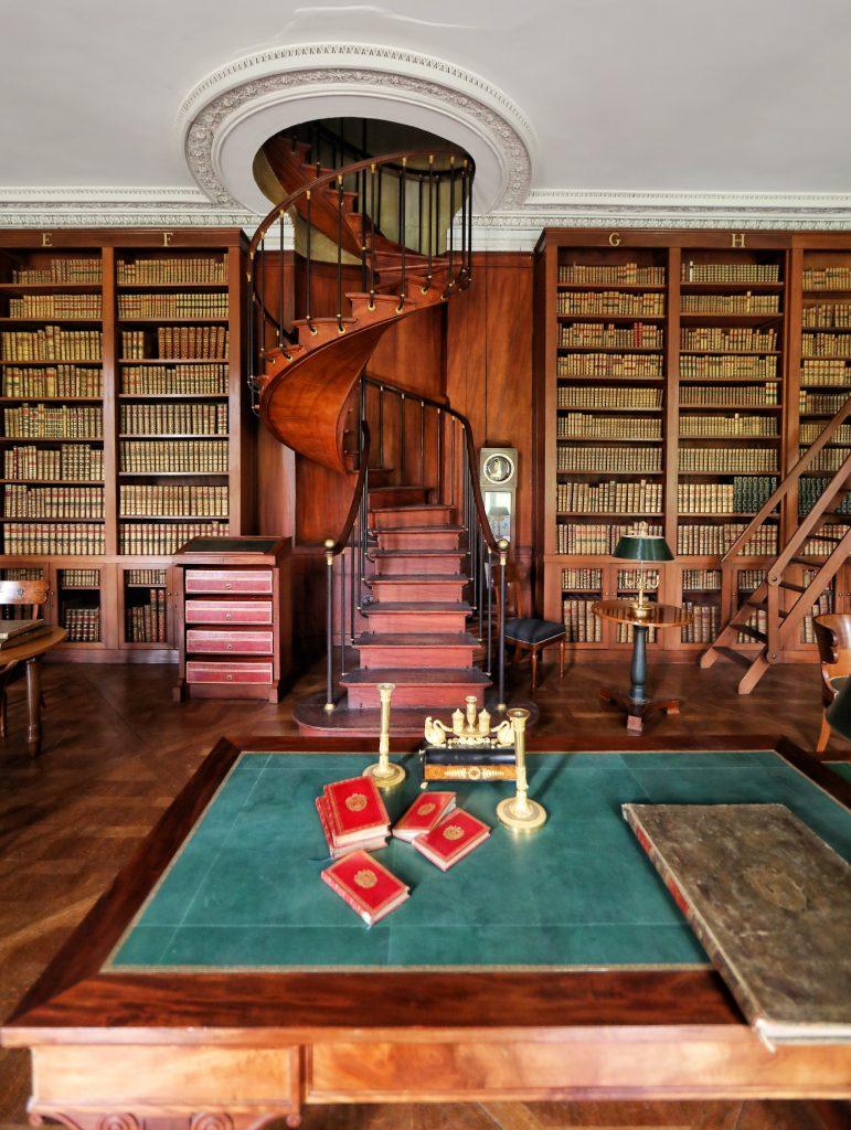 Bibliothèque de l'Empereur du château de Fontainebleau